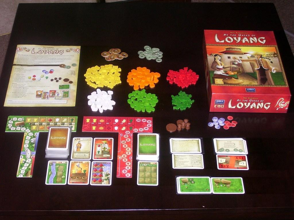 At the Gates of Loyang, a game by Uwe Rosenberg